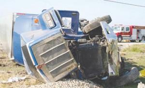 Semi Wreck