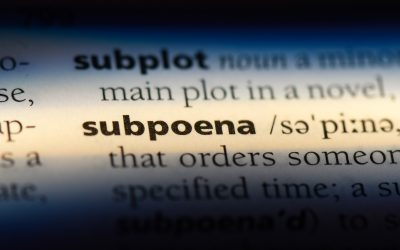 How Subpoena's Work